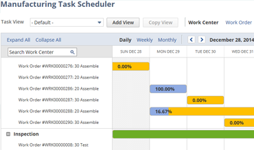 Manufacturing Task Scheduler