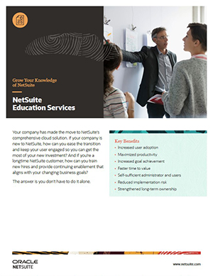 NetSuite Education Services