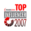 Top 25 CRM Influencers of 2007
